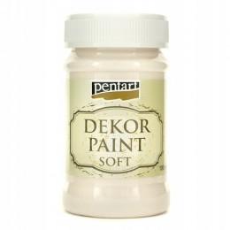 Farba Dekor Paint Soft 100 ml biały krem / farba kredowa