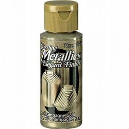 Farba akrylowa metaliczna 59 ml złoto szampańskie Dazzling Metallics