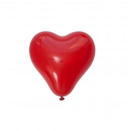 Duży balon CZERWONE SERCE ~ 35cm