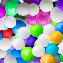 Duży balon BIAŁY 65cm