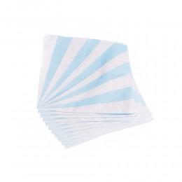 Serwetki papierowe niebiesko-białe 12 szt.