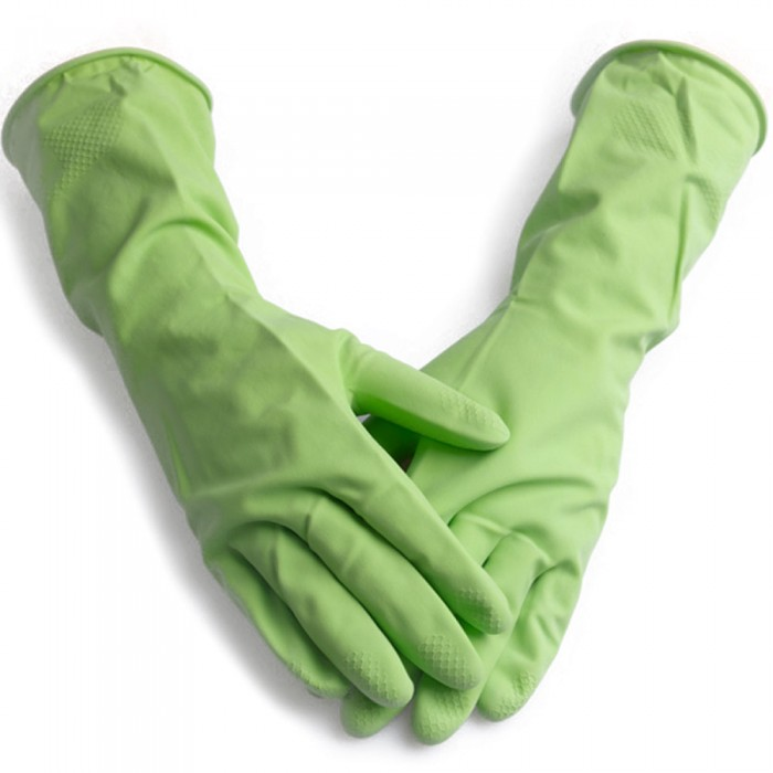 Rękawice gumowe L