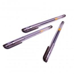 Długopisy żelowe czarne 3 sztuki