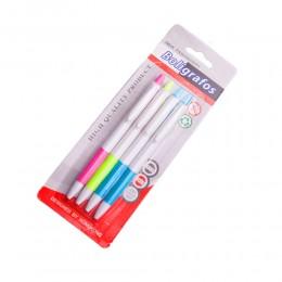 Długopis niebieski cienko piszący 4 szt.