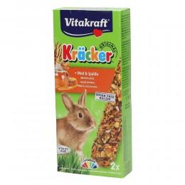 Karma dla królika Vitakraft | krakersy dla gryzoni MIÓD+ORKISZ