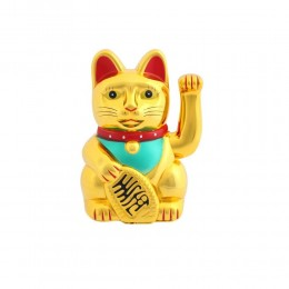 MANEKI NEKO japoński kot szczęścia bogactwa 25 cm