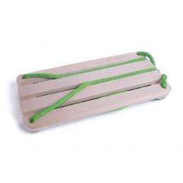 Huśtawka drewniana deska dla dzieci