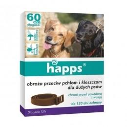 Obroża przeciw pchłom i kleszczom HAPPS  dla dużych psów