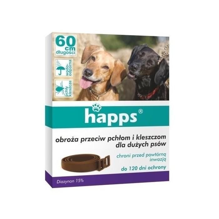 Obroża przeciw kleszczom i pchłom dla psów