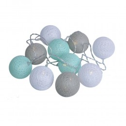 Cotton Ball Lights świecące kule lampki LED 20 kul