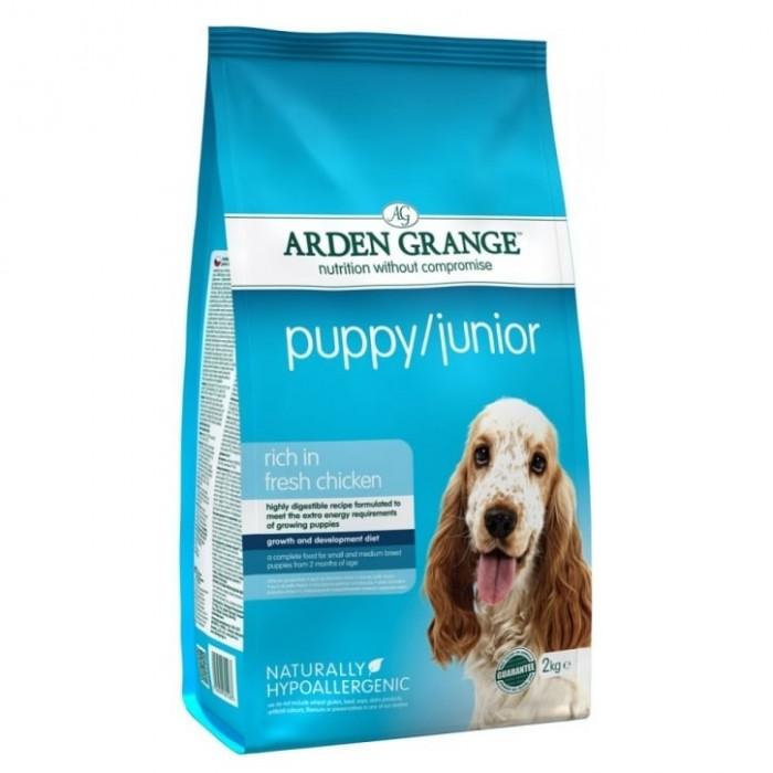 Karma dla psa Arden Grange Puppy Junior 2kg