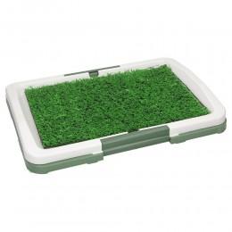 Kuweta dla psa z trawą