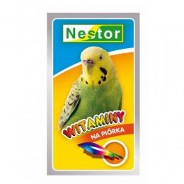 NESTOR witaminy na piórka dla małych papug