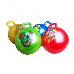 SKOCZEK piłka do skakania z uchwytem dla dzieci 45 cm