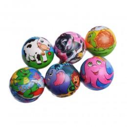 Piłka miękka dla dzieci ZWIERZĄTKA