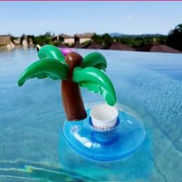 Dmuchana palma podstawka na kubek butelkę