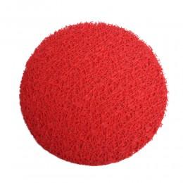 Czerwona siatka dekoracyjna florystyczna KORONKA fi 25cm