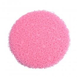 Różowa siatka dekoracyjna florystyczna KORONKA fi 25cm