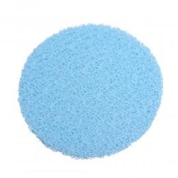 Błękitna siatka dekoracyjna florystyczna KORONKA fi 25cm