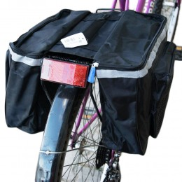 Torba na rower sakwa rowerowa na bagażnik