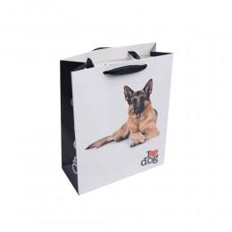 Torebka na prezenty z papieru DOG