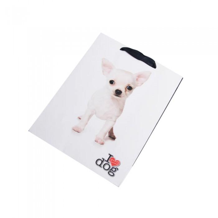Torebka na prezenty z apapieru DOG