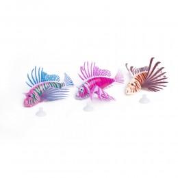 SKRZYDLICA ozdobna błyszcząca sztuczna rybka do akwarium
