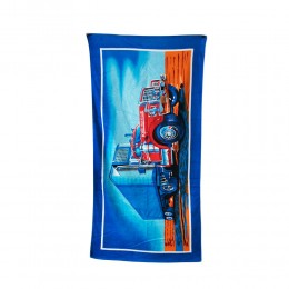 Duży ręcznik plażowy kąpielowy CIĘŻARÓWKA