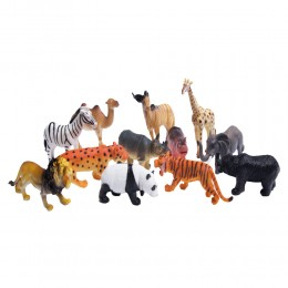 Plastikowe zabawki figurki dzikich zwierząt