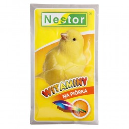 NESTOR witaminy na piórka dla kanarków