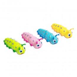 GĄSIENICA kolorowa jeżdżąca nakręcana zabawka