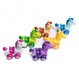 KOŃ jeżdżąca nakręcana zabawka dla dzieci