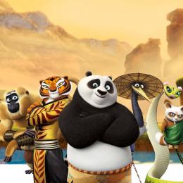 Zestaw 7 figurek z filmu Kung fu Panda