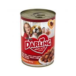 DARLING mokra karma dla psów z mięsem i wątróbką puszka