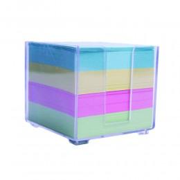 Kostka papierowa nieklejona kolorowa 800 kartek w pudełku
