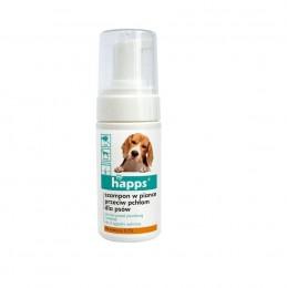 Szampon dla psa w piance HAPPS skuteczny środek na pchły