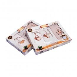 Komplet ręczników kuchennych 45x65 GOLDEN COFFEE