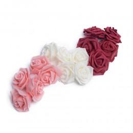 Różyczka róża z pianki 7x4cm główka