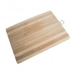 Duża drewniana deska do krojenia z uchwytem
