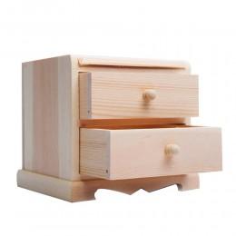 MINI KOMODA pudełko drewniane do decoupage