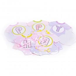 Girlanda urodzinowa na roczek dziewczynki