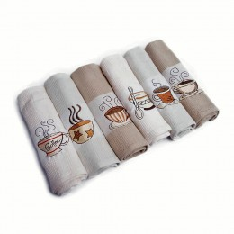 Komplet ręczników kuchennych 50x70cm 6 szt. CAFE