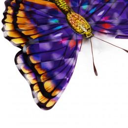 Motylki motyle trójwymiarowe 3D - dekoracja na ścianę