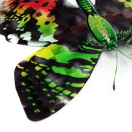 Zielone motylki motyle trójwymiarowe 6D