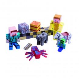 MINECRAFT figurki zabawki dla dzieci z gry ruchome 9 szt