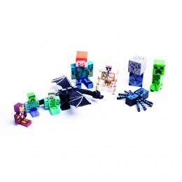 MINECRAFT ruchoma kolekcja figurek dla dzieci 10szt.