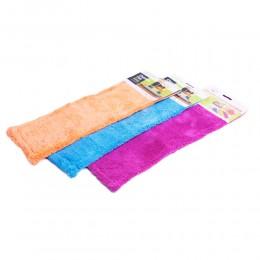 Mop wkład płaski z bawełny z zakładkami 43cm