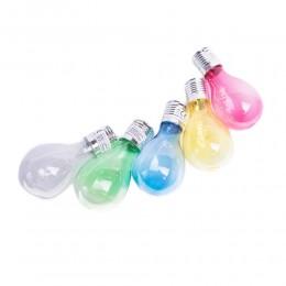 LAMPA SOLARNA wisząca żarówka kolorowa LED SZKŁO