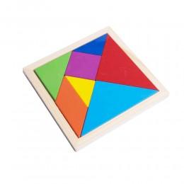 TANGRAM łamigłówka układanka logiczna z figur geometrycznych