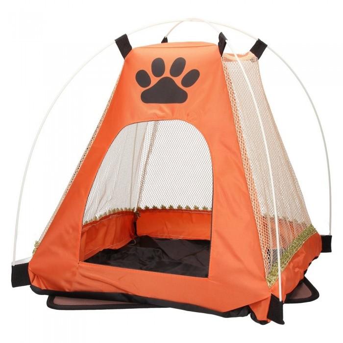 pomarańczowe Legowisko namiot dla psa